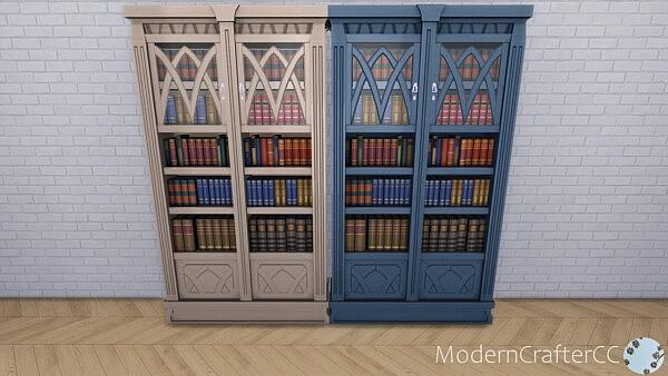 Mortimers Secrets Bookcase sims 4 cc