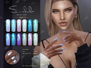 Nails 202103 Sims 4 CC