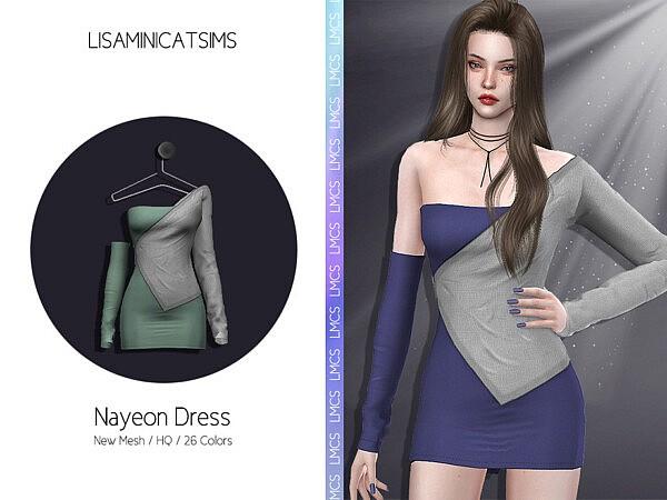 Nayeon Dress sims 4 cc