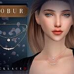 Necklace 23 Sims 4 CC