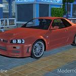 Nissan Skyline Sims 4 CC