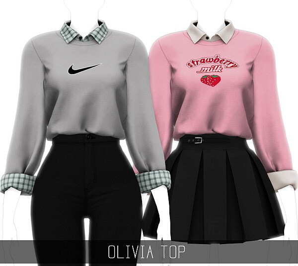 Olivia Top from Simpliciaty