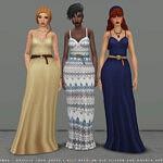 Ophelia Dress Sims 4 CC