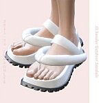 Outdoor Sandals Sims 4 CC