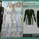 Outfit ELves Cisne sims 4 cc