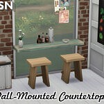 Over The Counter Countertops sims 4 cc
