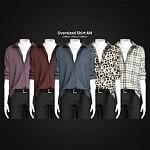Oversized Shirt sims 4 cc