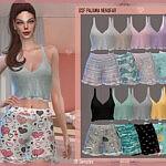 Pajama Nenufar Sims 4 CC