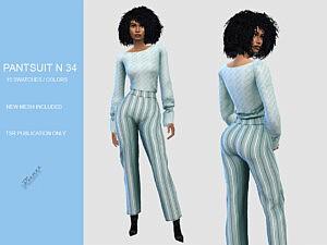 Pant Suit N 34 by pizazz