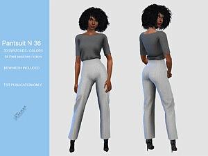 Pant Suit sims 4 cc