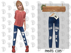 Pants Girls sims 4 cc