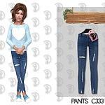 Pants Kids sims 4 cc