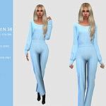 Pants Suit Sims 4 CC