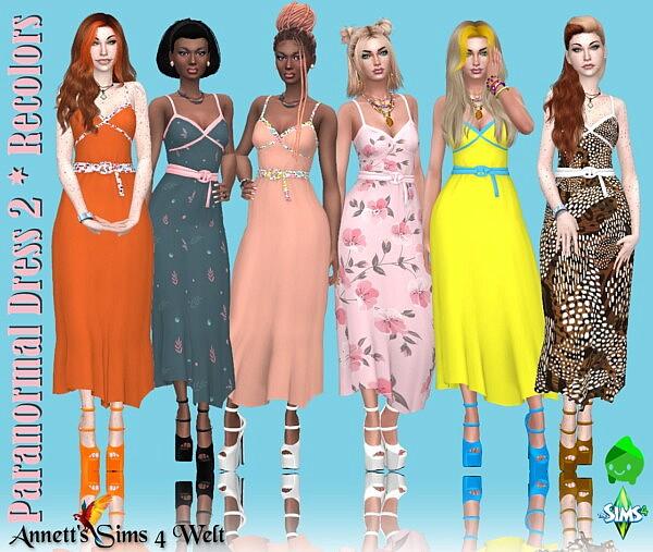 Paranormal Dress Sims 4 CC