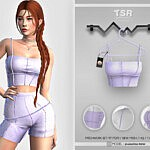 Patchworks Top Sims 4 CC