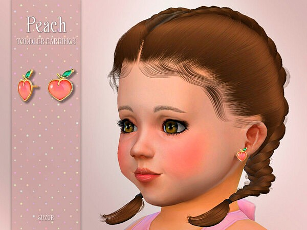 Peach T Necklace by Suzue from TSR