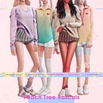 Peach Tree Rascals Collection sims 4 cc