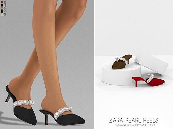 Pearl Heels sims 4 cc