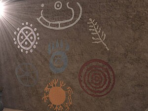 Petroglyphs part three symbols sims 4 cc