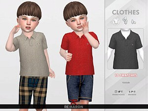 Polo Shirt T01 by remaron