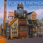 Portside Party House sims 4 cc
