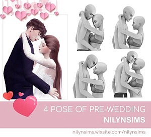 Prewedding Poses Sims 4 CC
