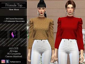 Primula Top Sims 4 CC