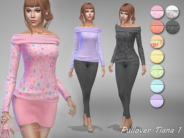 Pullover Tiana 1 by Jaru Sims