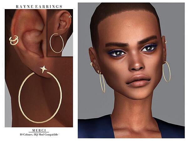 Rayne Earrings by Merci from TSR