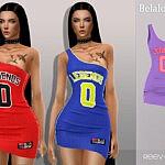 Reev jersey dress sims 4 cc