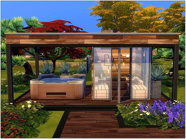 Relaxing Deck sims 4 cc