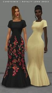 Royalty Long Dress