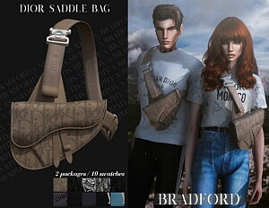 Saddle Bag sims 4 cc