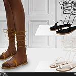 Sandals 632 sims 4 cc