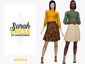 Sarah Dress sims 4 cc