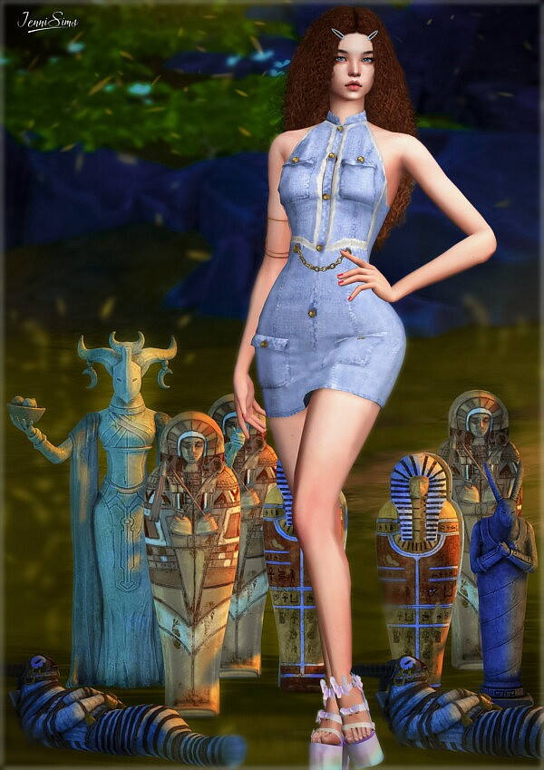 Sculpture and statues Sims 4 CC