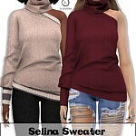 Selena Sweater sims 4 cc