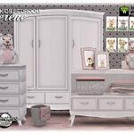 Serene kids bedroom part2 Sims 4 CC