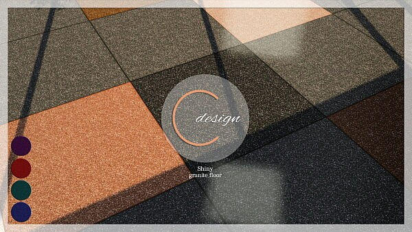 Shiny Granite Floor sims 4 cc