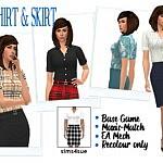 BG Shirt and Skirt Recolore