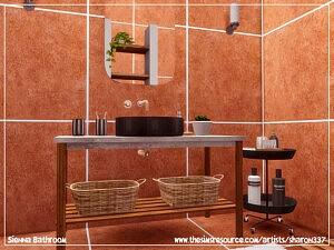 Sienna Bathroom Sims 4 CC