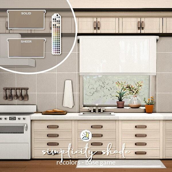 Simplicity Shade Sims 4 CC