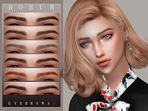 Sims 4 CC Eyebrows 33
