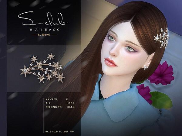 Sims 4 CC Hair Accessories