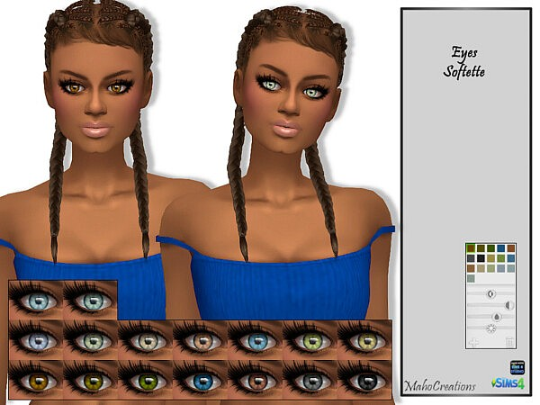 Eyes Softette by MahoCreations from TSR