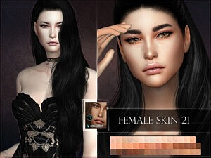 Skin 21 Sims 4 CC