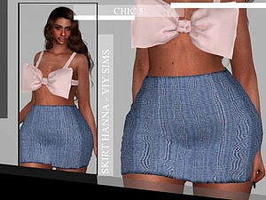 Skirt Hanna sims 4 cc
