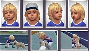 SkyLer Toddler Hair Sims 4 CC