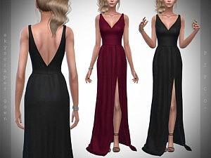 Skyscraper Gown Sims 4 CC
