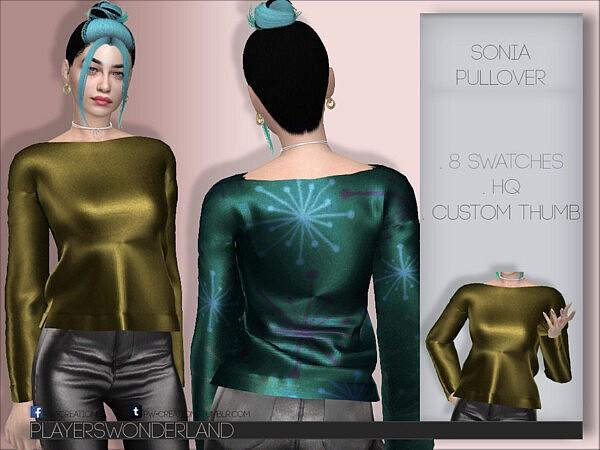 Sonia Pullover Sims 4 CC